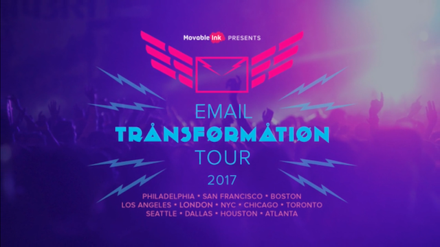 Relive the Email Transformation Tour London