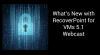 What's New With RecoverPoint for VMs 5.1