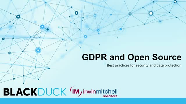 GDPR and Open Source: Best Practices for Security and Data Protection
