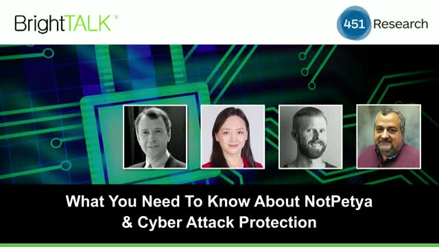 What You Need To Know About Petya/NotPetya & Cyber Attack Protection