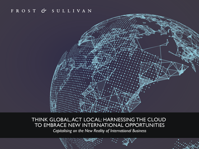 Harnessing the Cloud to Embrace New International Opportunities