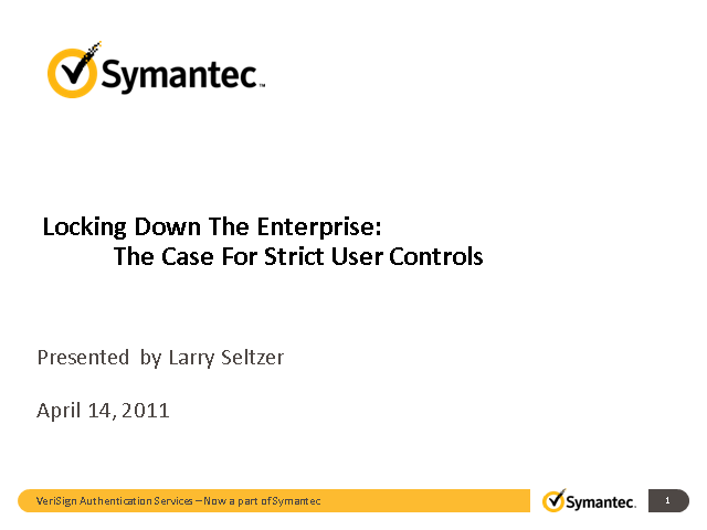 The Case For Strict User Controls