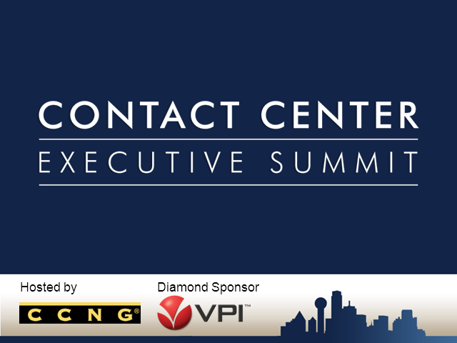 2011 Contact Center Executive Summit