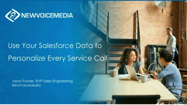 Use Your Salesforce Data to Personalise Every Service Call (APC)