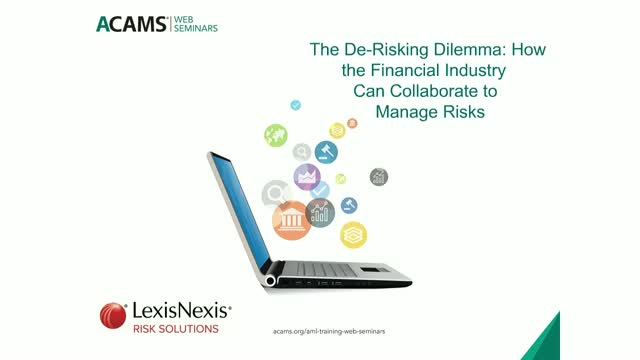 De-Risking Dilemma: How the Financial Industry Can Collaborate to Manage Risk