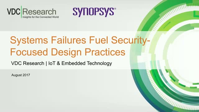 Systems Failures Fuel Security-Focused Design Practices
