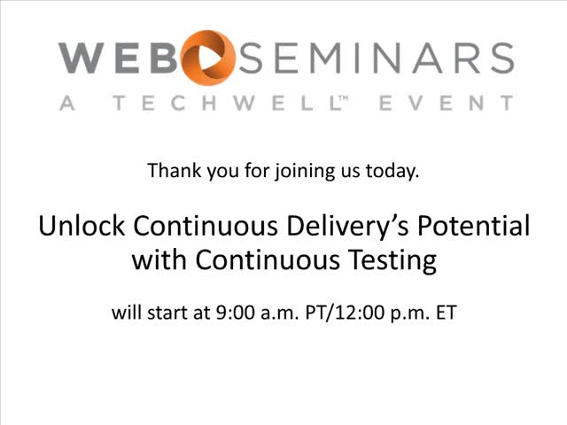 Unlock Continuous Delivery's Potential with Continuous Testing