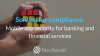 Solving for compliance: Mobile app security for banking and financial services