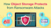 How Object Storage Protects from Ransomware Attacks