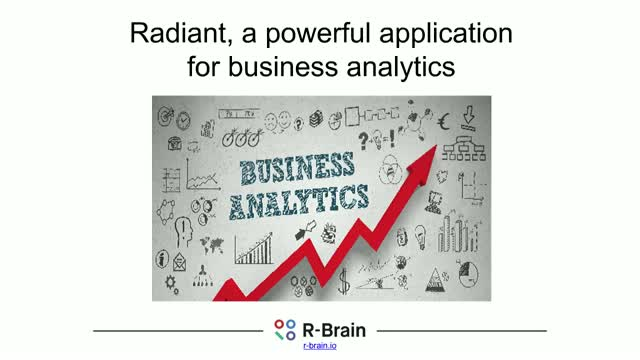 Radiant, a powerful open source Shiny application for business analytics