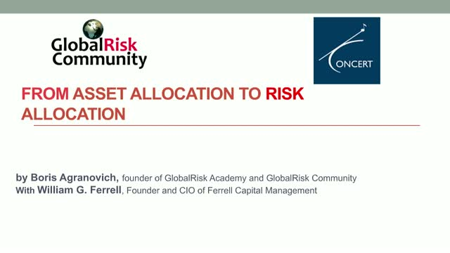 From Asset To Risk Allocation - Free Workshop and Online Course Intro
