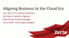 Zerto MoD Webinar - Aligning Business to the Cloud Era