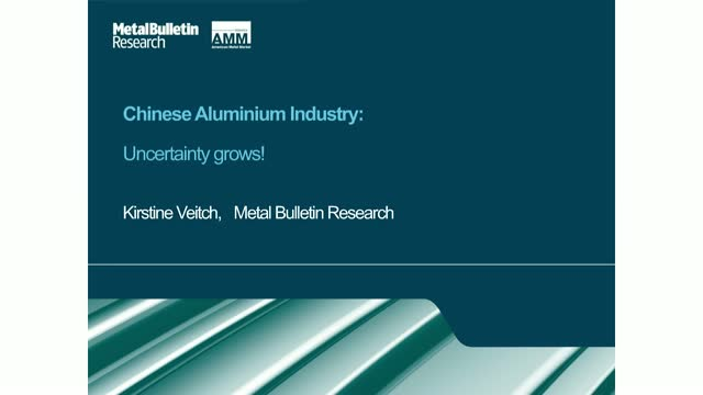 Chinese aluminium markets: Uncertainty grows!