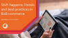 Shift happens: Trends and best practices in B2B commerce