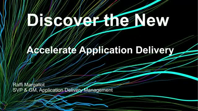 Discover the New:  Anticipate seismic shifts in software delivery