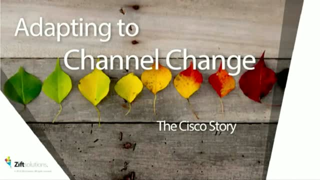 How Cisco Leveraged Analytics to be More Effective with Channel Partners