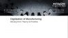 Industrial IoT - Digitization of Manufacturing: from Theory to Practice