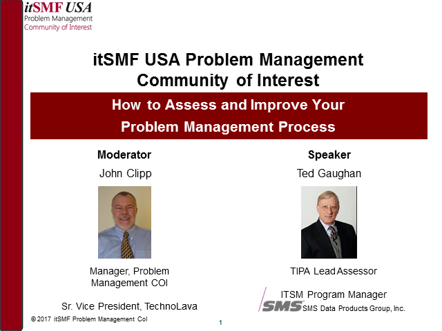 How to Assess and Improve Your Problem Management Process