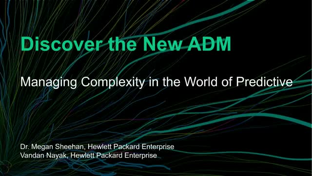 Managing Complexity in the World of Predictive