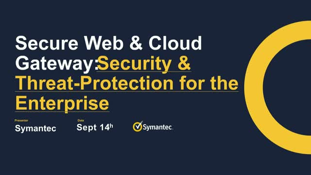 Secure Web & Cloud Gateway: Security & Threat-Protection for the Enterprise