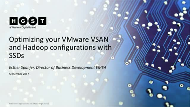 Optimizing your VMware VSAN configurations with HGST SSDs and HDDs