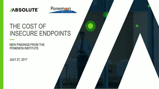 The Cost of Insecure Endpoints – New Findings from Ponemon Institute