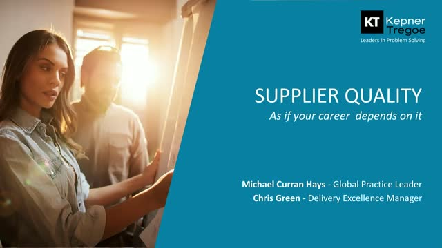Your Company's Reputation Can Hinge on a Single Supply Chain incident