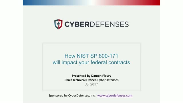 NIST SP 800-171: How This Will Impact Your Federal Contracts
