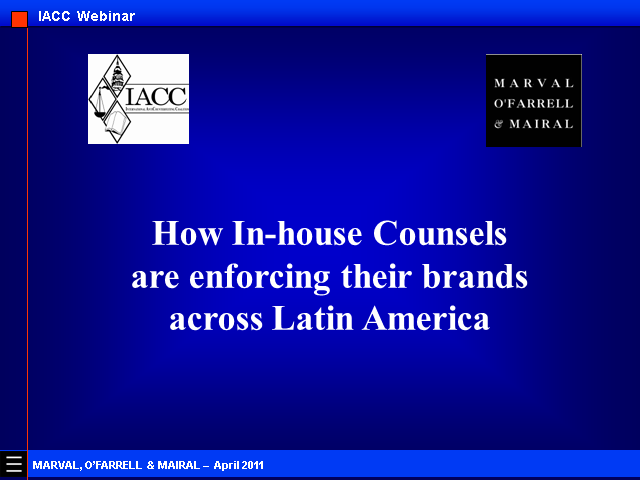 How In-house Counsel are Enforcing Brands Across Latin America
