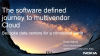 The Software Defined Journey to Multivendor Cloud