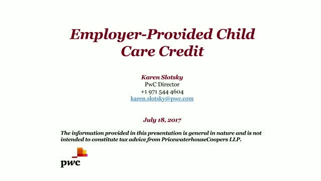 Take Advantage of Tax Credits for Employer-Provided Child Care