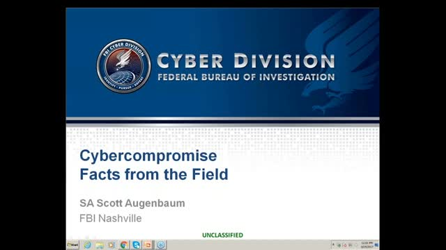 FBI Cyber Squad: Facts from the Field