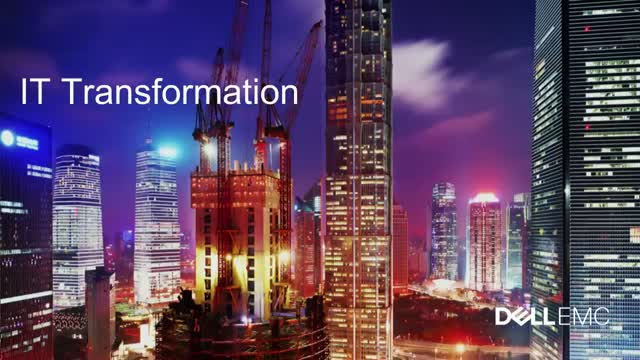 Dell EMC Webinar: Accelerate Innovation with IT transformation