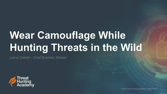 Wear Camouflage While Hunting Threats
