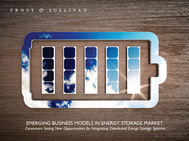 Emerging Business Models in Energy Storage Market