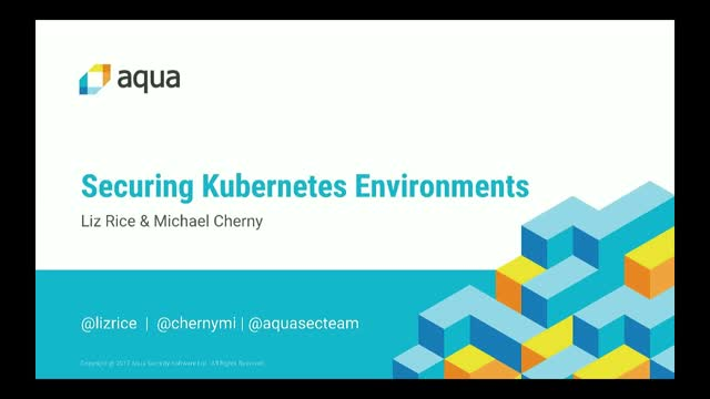 Securing Kubernetes Environments