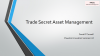 Trade Secrets: the expert guide to managing them effectively