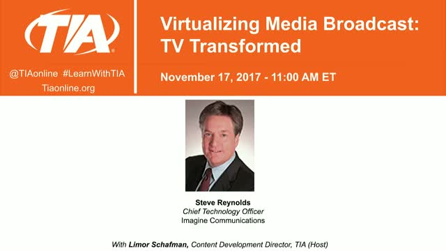 Virtualizing Media Broadcast: TV Transformed