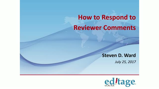 How to Respond to Peer Reviewer Comments