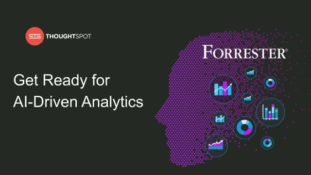 Get Ready for AI-Driven Analytics