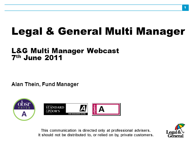 Multi Manager webcast