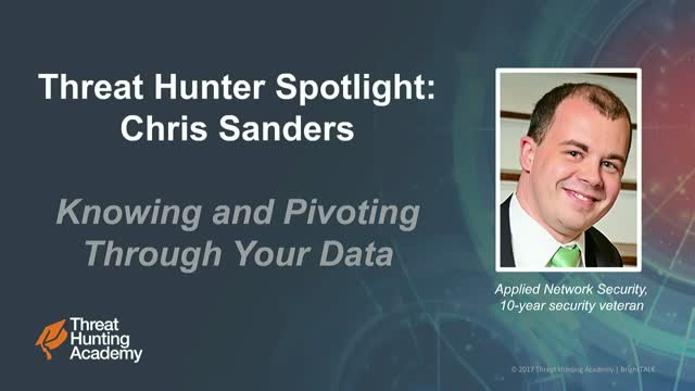 Knowing and Pivoting Through Your Data (Hunter Spotlight)