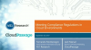 Meeting Compliance Regulations in Cloud Environments