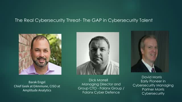 The Real Cybersecurity Threat - The GAP in Cybersecurity Talent