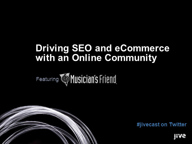 Driving SEO and eCommerce with an Online Community