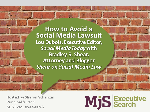 How to Avoid a Social Media Lawsuit
