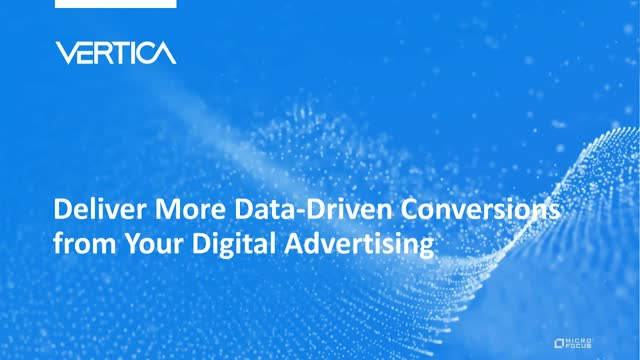 Deliver More Data-Driven Conversions from Your Digital Advertising