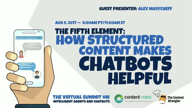 The Fifth Element: How Structured Content Makes Chatbots Helpful