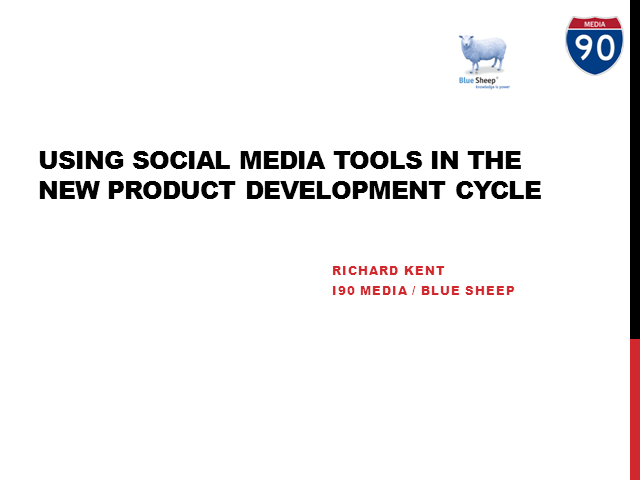 Using social media for new product development