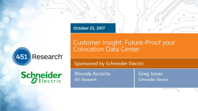 Customer Insight: Future-Proof your Colocation Data Center